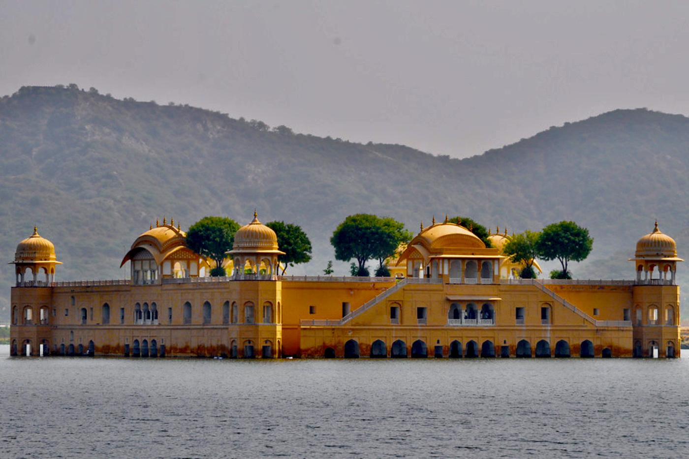 Jal Mahal Palace Jaipur Rajasthan India