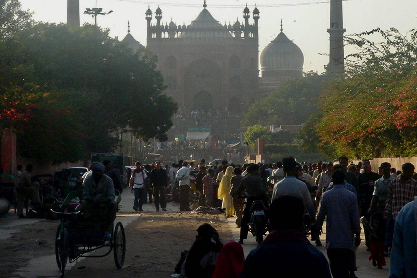 Jama Masjid Mosque Delhi India