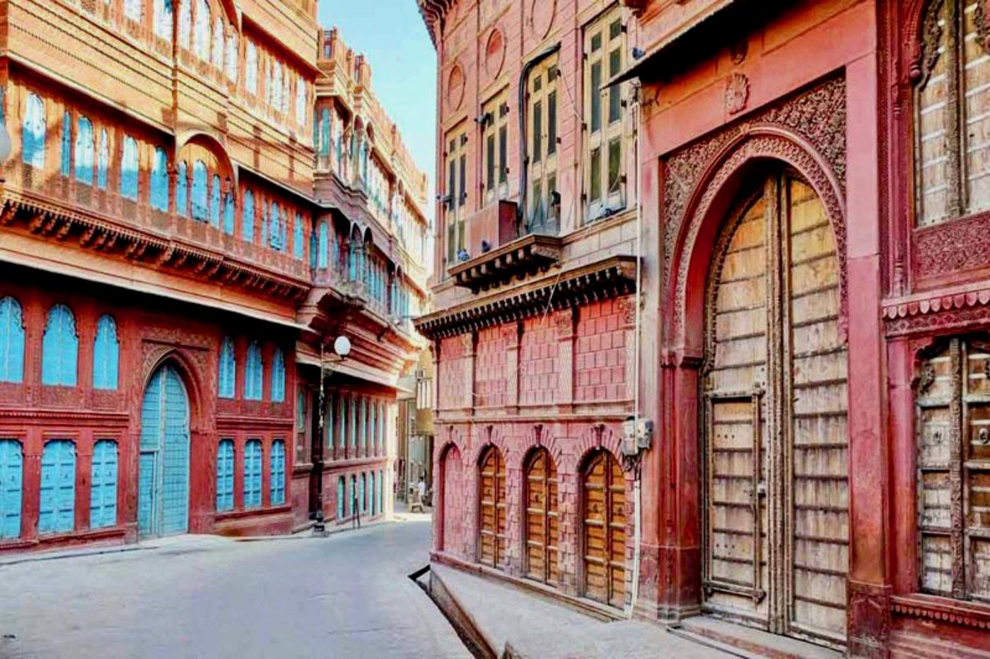 Streets of Bikaner Rajasthan India
