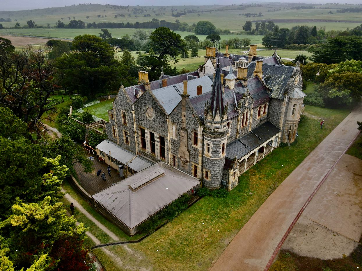 Aerial View of Abercrombie House Bathurst NSW