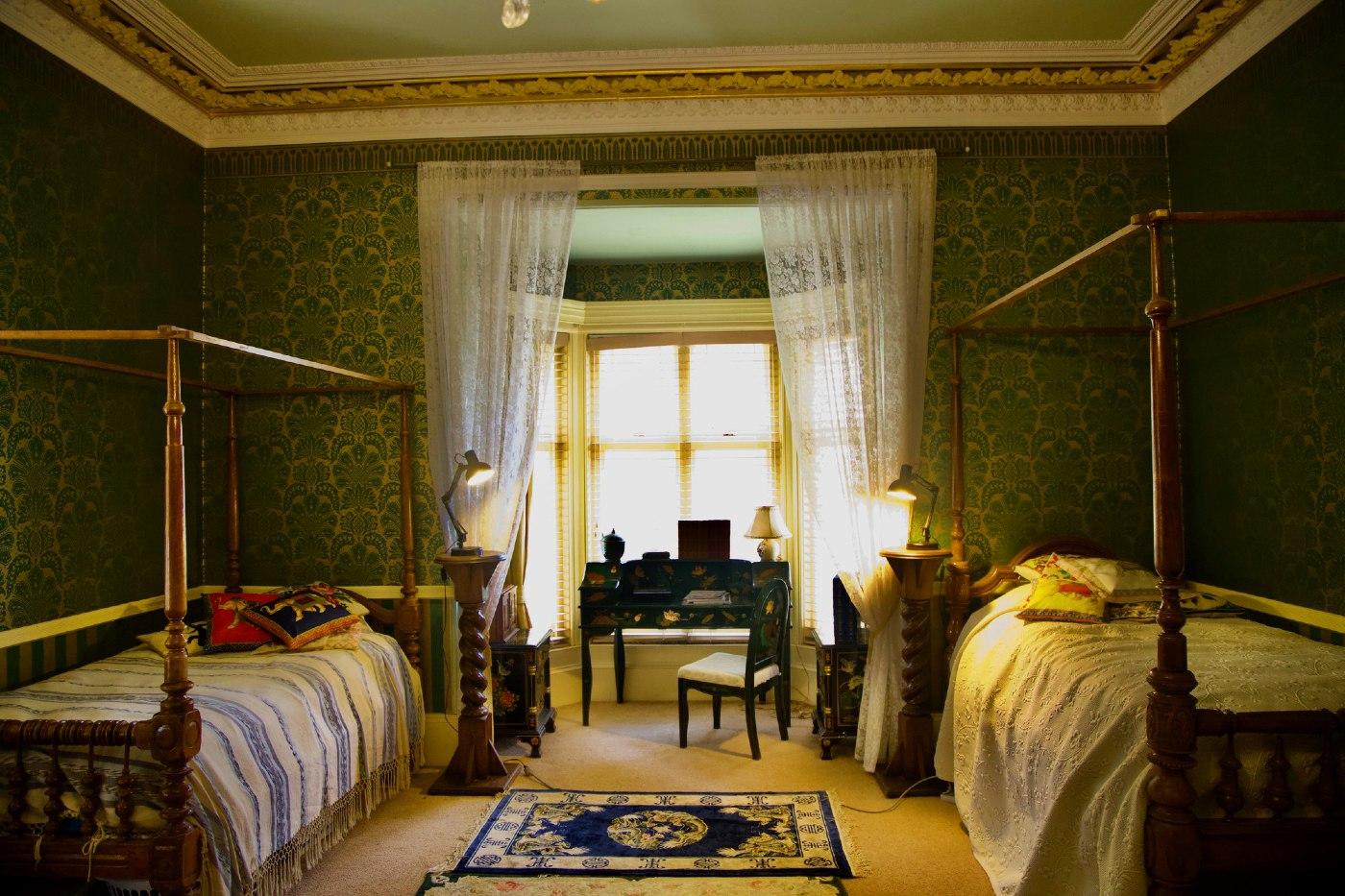 Bedroom of Abercrombie House Bathurst NSW