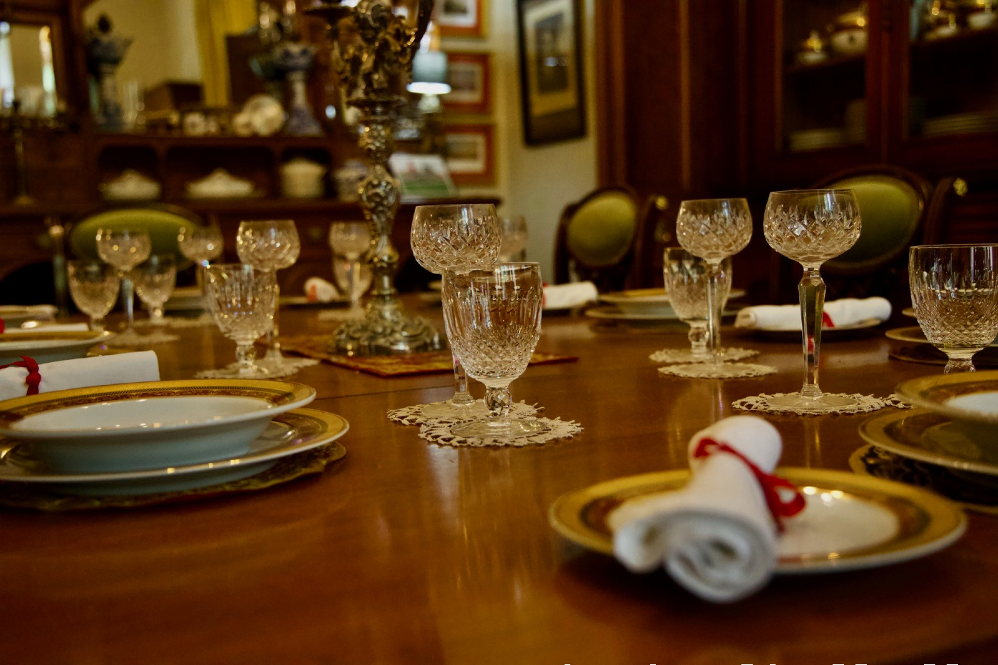 Historic Abercrombie House Dining Room Bathurst NSW