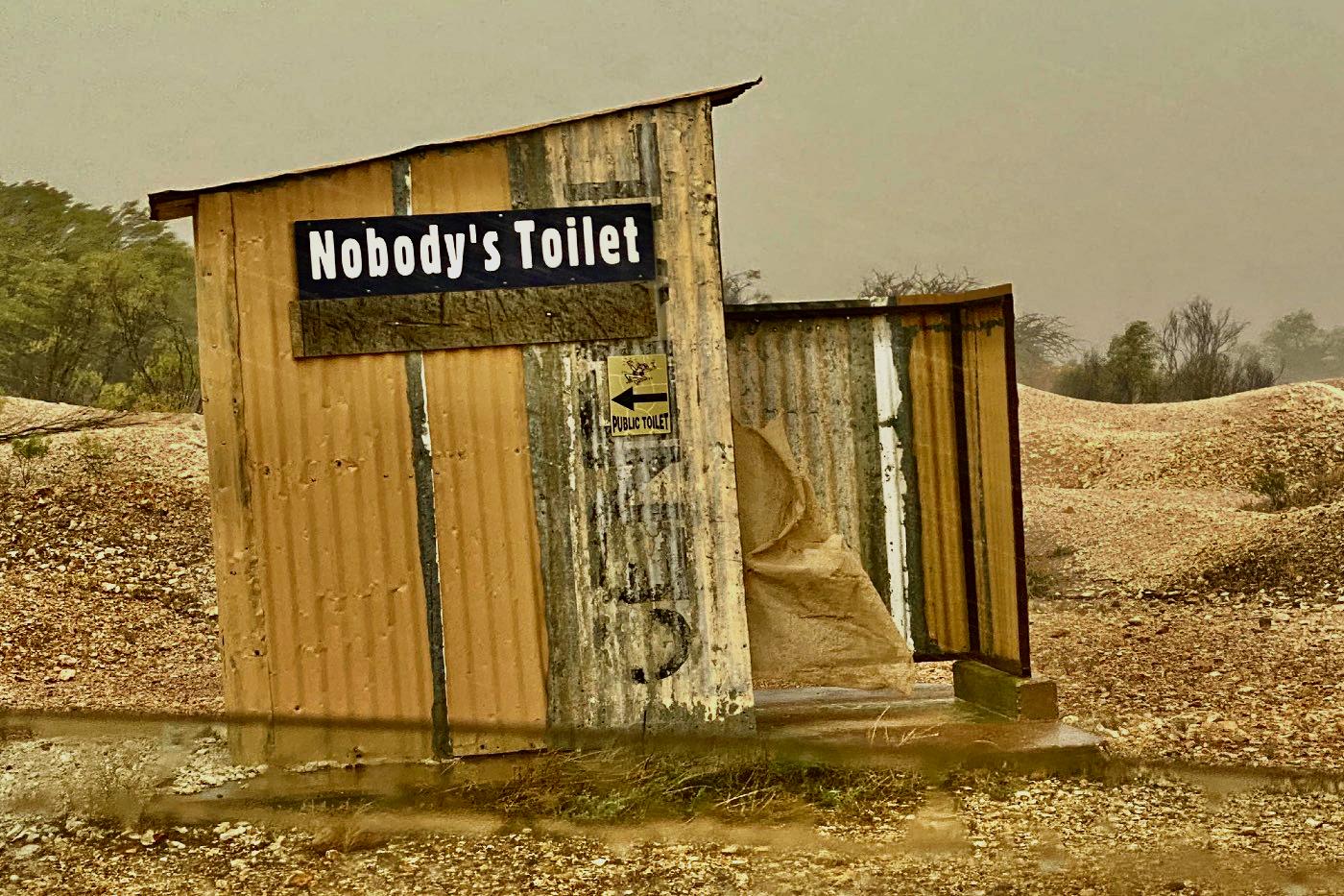 White Cliffs Public Toilet NSW